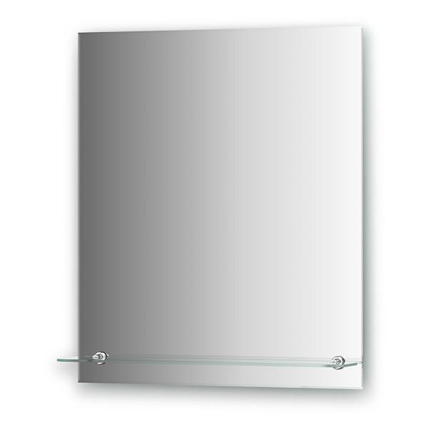 Зеркало с полочкой Evoform ATTRACTIVE BY 0505, с фацетом 5 мм, 60*70 см