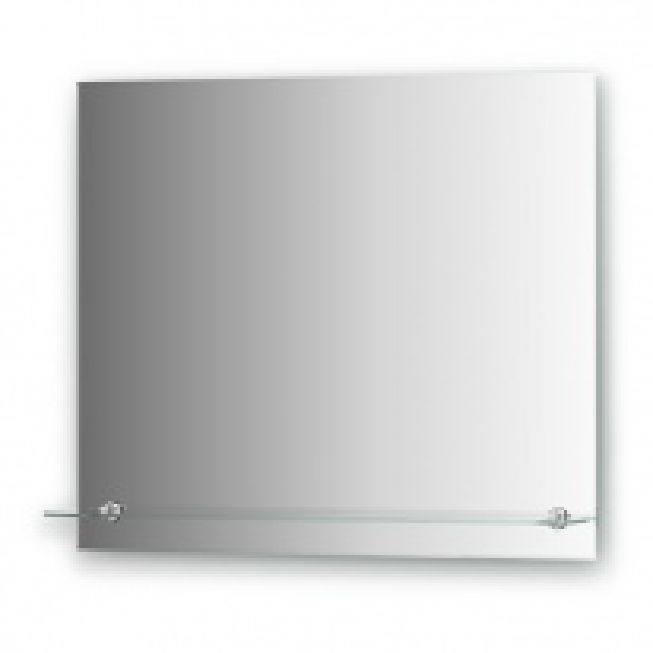 Зеркало с полочкой Evoform ATTRACTIVE, арт. BY 0515, с фацетом 5 мм, 70*60 см