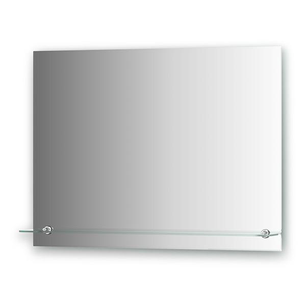 Зеркало с полочкой Evoform ATTRACTIVE, арт. BY 0516, с фацетом 5 мм, 80*60 см