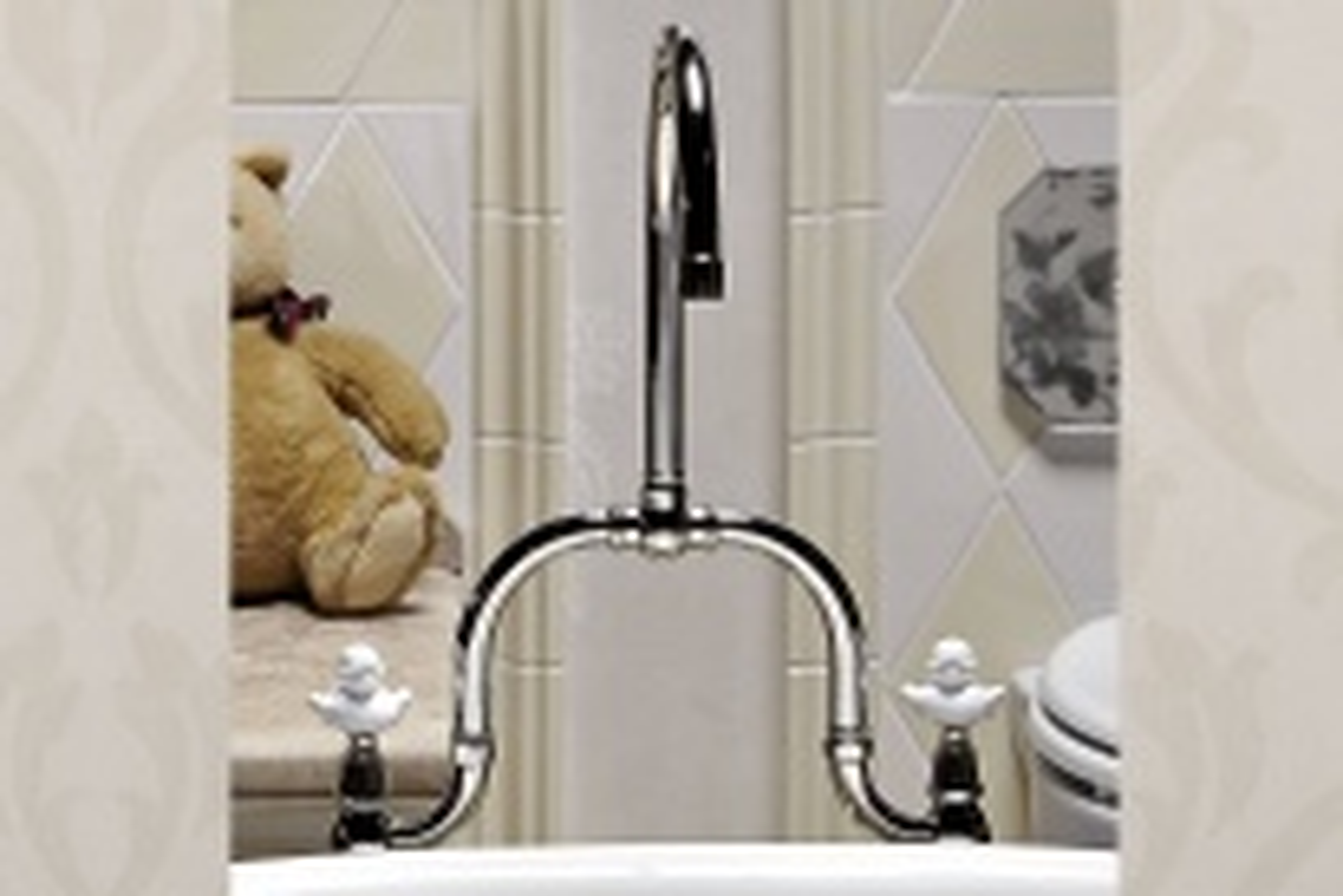Смеситель для детской ванной Park Avenue Junior PK137VASDOCCIACR с душем