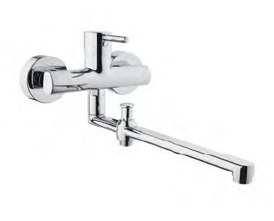 Смеситель Vitra MINIMAX S, арт. A42037EXP, для ванны/душа