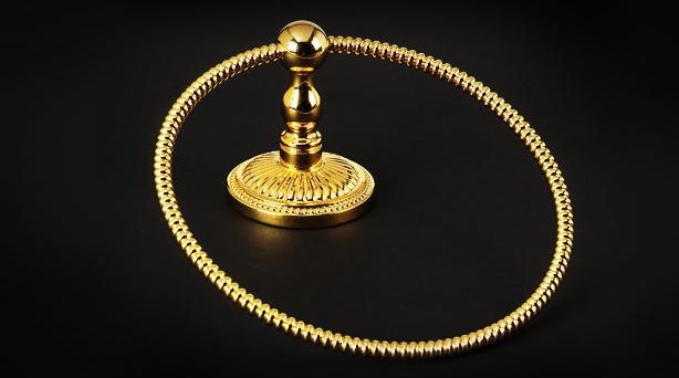 Полотенцедержатель-кольцо Cristal et Bronze Bonroche 4140