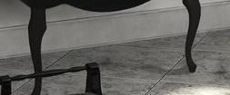 Комплект ножек Акватон черный глянец