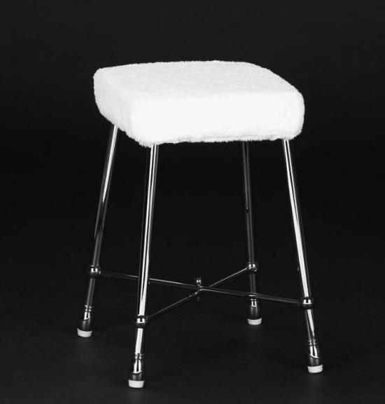 Квадратный табурет Cristal-et-Bronze Boutique Moderne 30603/30650