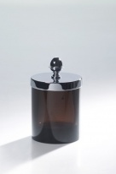 Прозрачная баночка Cristal-et-Bronze Obsidienne 36518