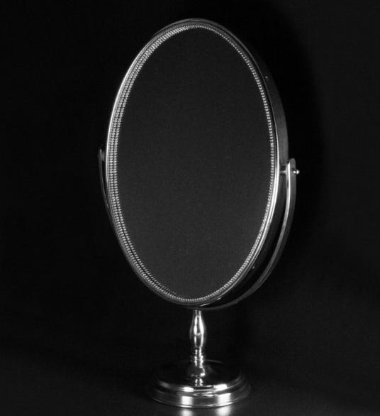 Косметическое поворотное зеркало Cristal-et-Bronze 40853 на подставке