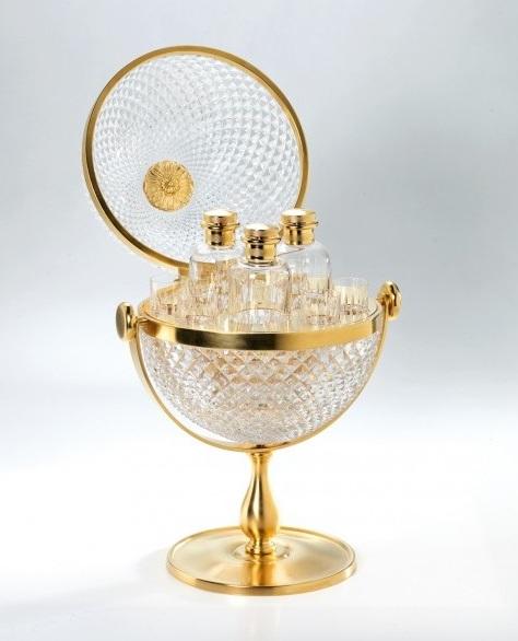 Сундучок для виски Cristal-et-Bronze Boutique Prestige Caves 70402