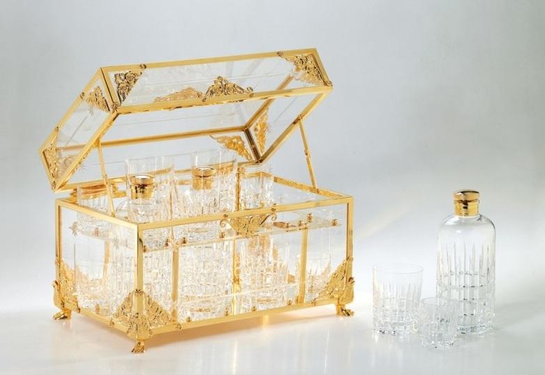Сундучок Cristal-et-Bronze Boutique Prestige Caves 70401