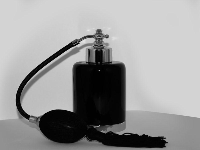 Распылитель парфюма Cristal-et-Bronze Obsidienne 36506, хром