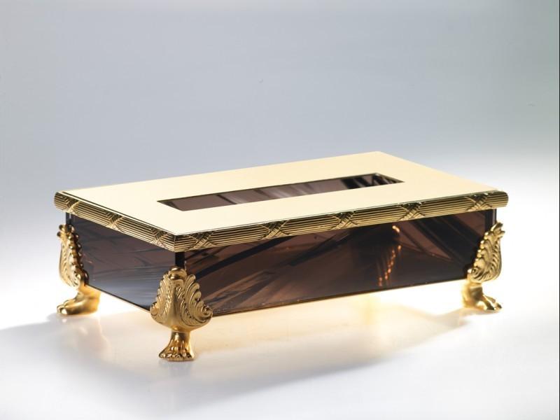 Салфетница Cristal-et-Bronze Boutique Obsidienne на 150 салфеток 36085
