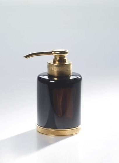 Дозатор для жидкого мыла Cristal-et-Bronze Obsidienne 36278