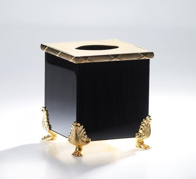 Салфетница Cristal-et-Bronze Boutique Obsidienne на 150 салфеток 36095