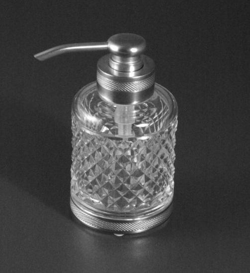 Дозатор для жидкого мыла Cristal-et-Bronze Obsidienne 30278
