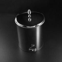 Мусорница с педалью Cristal-et-Bronze Boutique 30206