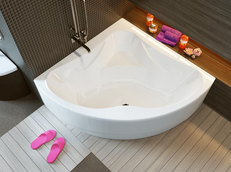 Акриловая ванна ALPEN Rumina арт. AVY0054, 140*140 см