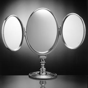 Косметическое зеркало Cristal-et-Bronze 40951 на подставке