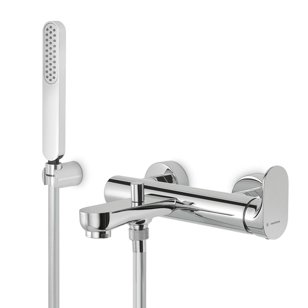 Смеситель Newform Linfa 67040C.21.018 для ванны с лейкой