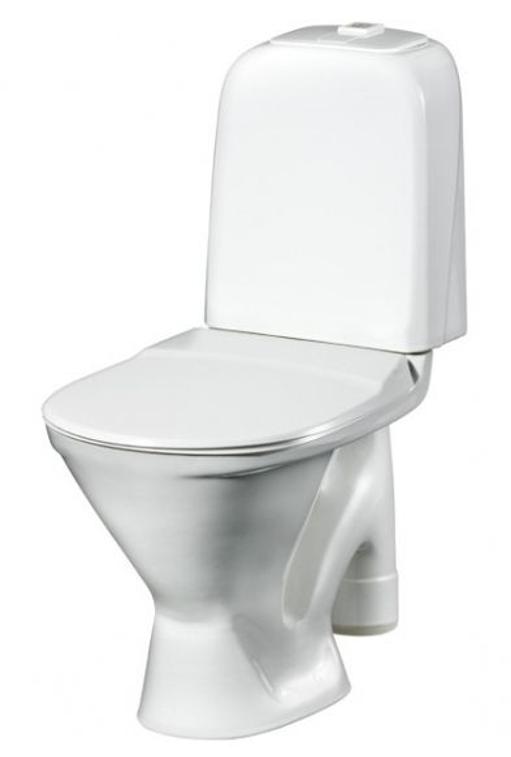 Унитаз Gustavsberg Basic 390 GB1039026105 напольный, в комплекте со стандартным сиденьем