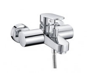 Смеситель WasserKRAFT DONAU 5301 для ванны и душа с коротким изливом, хром