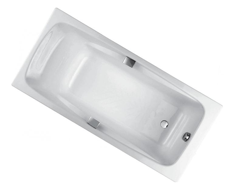 Ванна чугунная Jacob Delafon Repos E2929-00 160*75 см с ручками