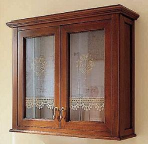 Мебель для ванной комнаты Labor Legno VICTORIA Composizione H 105, орех/бронза, 90 см