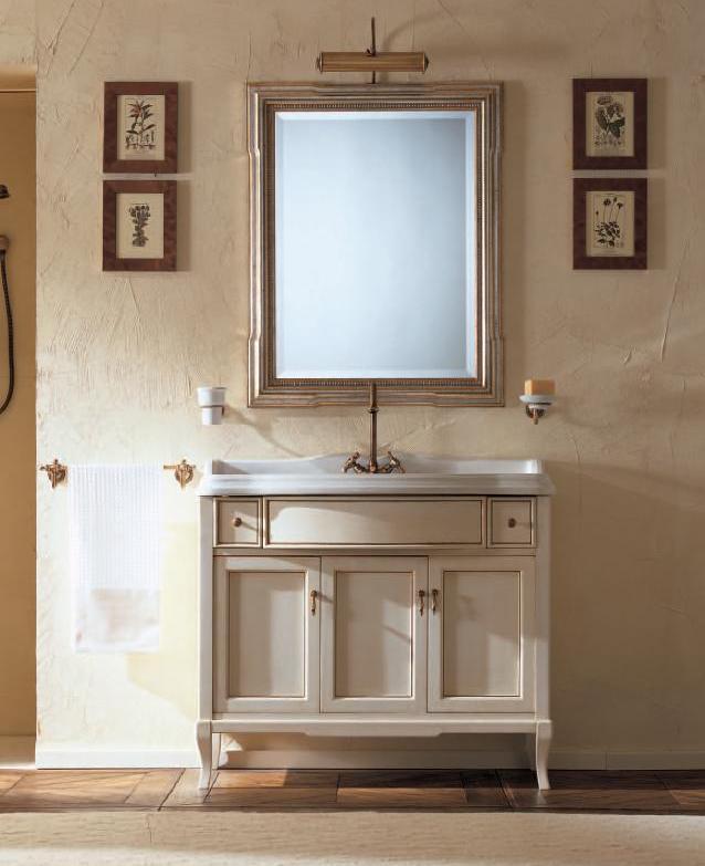 Комплект мебели Labor Legno VICTORIA Composizione H 108, бежевый с патиной/бронза, 105 см