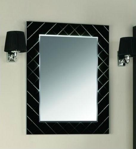 Зеркало Венеция 75 черное