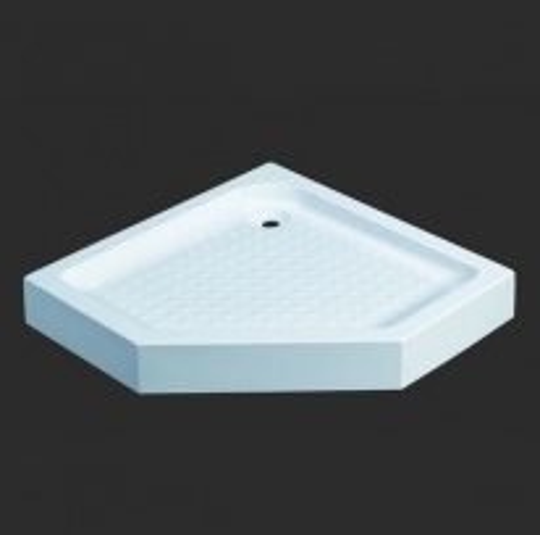 Поддон Grande Caruso CC3231-10*10, пятиугольный, 100*100*13 см