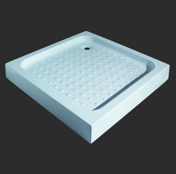 Поддон Grande Caruso СWA1231, квадратный, 100*100*13 см
