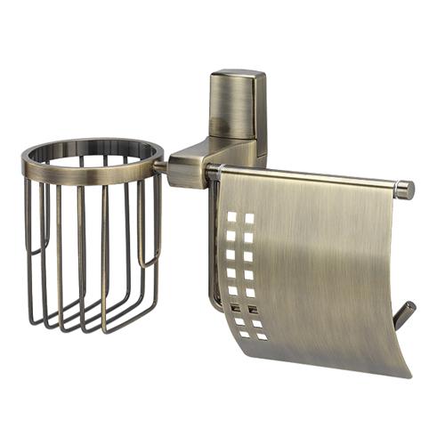Держатель туалетной бумаги и освежителя WasserKRAFT Exter К-5259