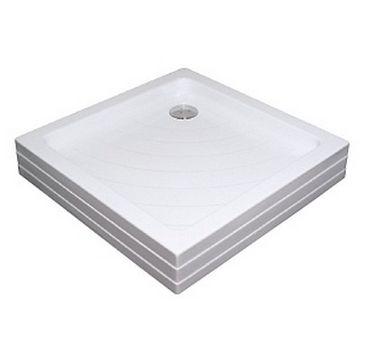 Поддон Elegansa ТF-639, квадратный с сифоном, 90*90*15 см
