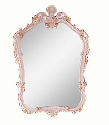 Зеркало Migliore Bella фигурное ML.BLL-SP449.AV.DO, 58*85*4 см, цвет Avorio.DOrato