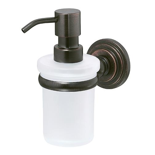 Дозатор для жидкого мыла WasserKRAFT Isar К-7399 стеклянный, 150 ml