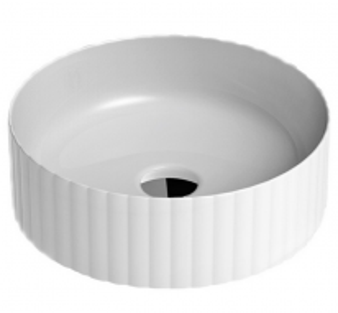 Раковина ArtCeram Millerighe OSL010 01; 00, накладная, цвет - белый глянцевый, 44 х 44 х 14,5 см