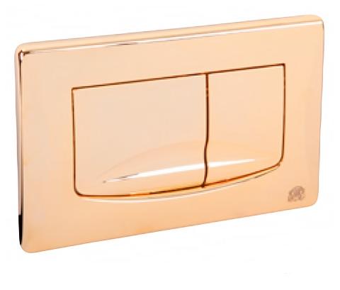 Клавиша двойная универсальная Migliore River dual ML.PLC-27.052, золото
