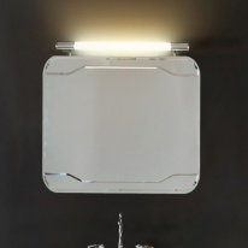 Зеркало без рамы Kerasan Waldorf 7407 80х70см, с выключателем