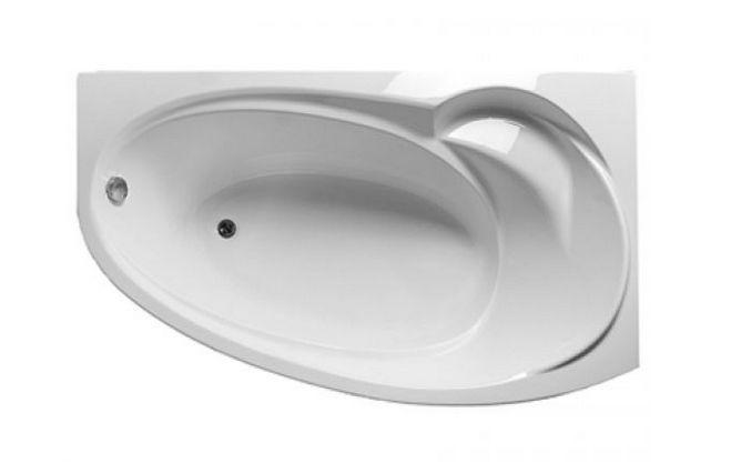 Ванна 1MarKa JULIANNA, асимметричная, левая/правая, 170*100 см