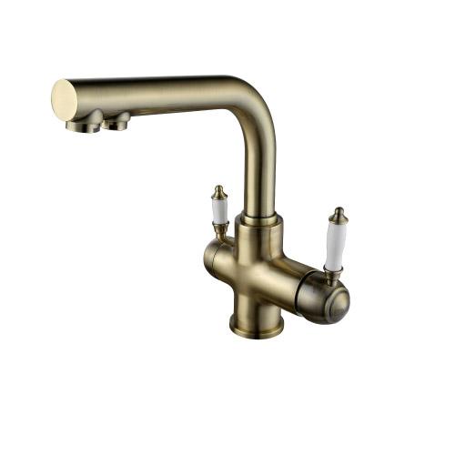 Смеситель Lemark Villa LM4861B для кухони с фильтром для воды