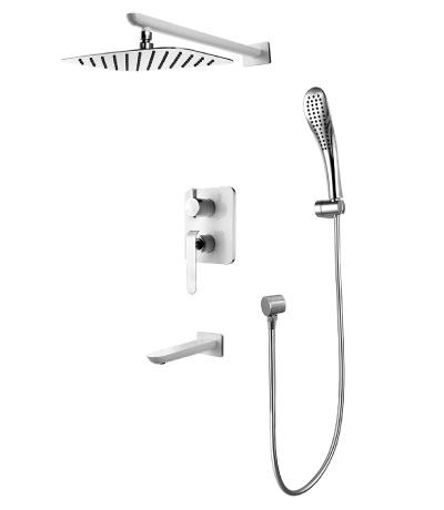 Смеситель Lemark Melange LM4922CW для ванны и душа