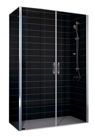Душевой уголок Vegas E2P-Fis 80*90, прямоугольный, 80*90*190 см