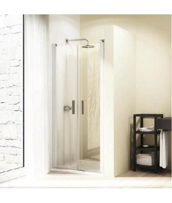 Двустворчатая дверь в нишу Huppe Design elegance 8E1301 80*190 см