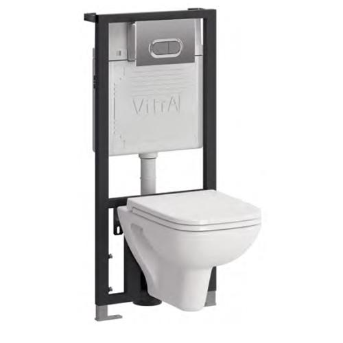 Комплект 4 в 1: унитаз+система смыва Vitra S20 9004B003-7204