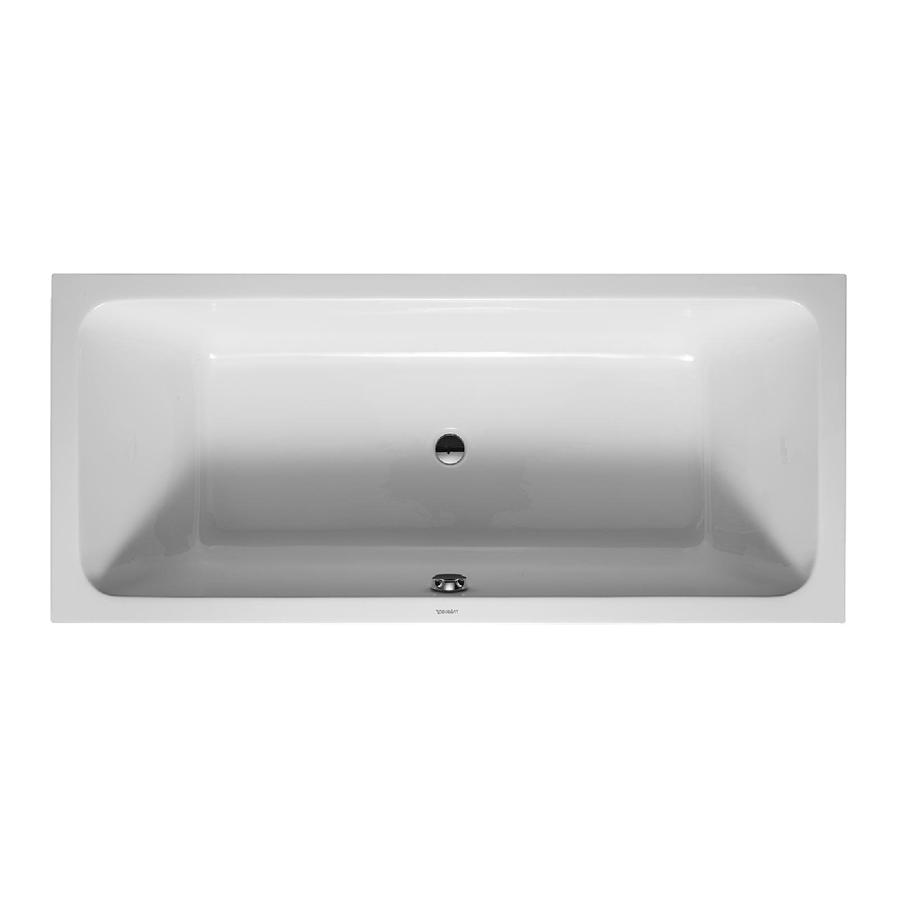 Ванна акриловая Duravit D-Code 70010100000 0000 180*80 см