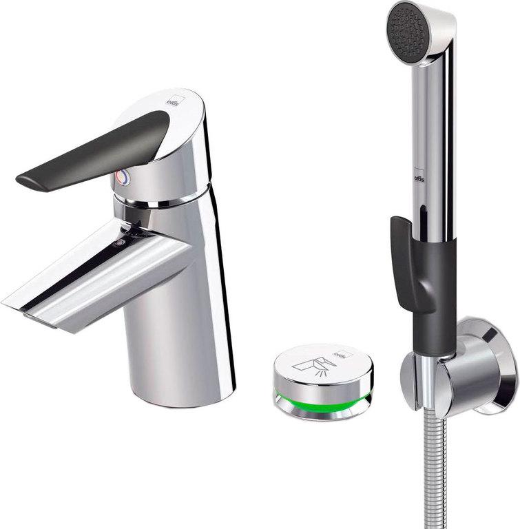 Смеситель Oras Optima 2715F для раковины с гигиеническим душем