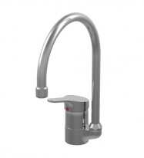 Смеситель Vidima СЕВА ФРЕШ (Seva Fresh) BA033AA для кухонной мойки, поворотный излив, хром