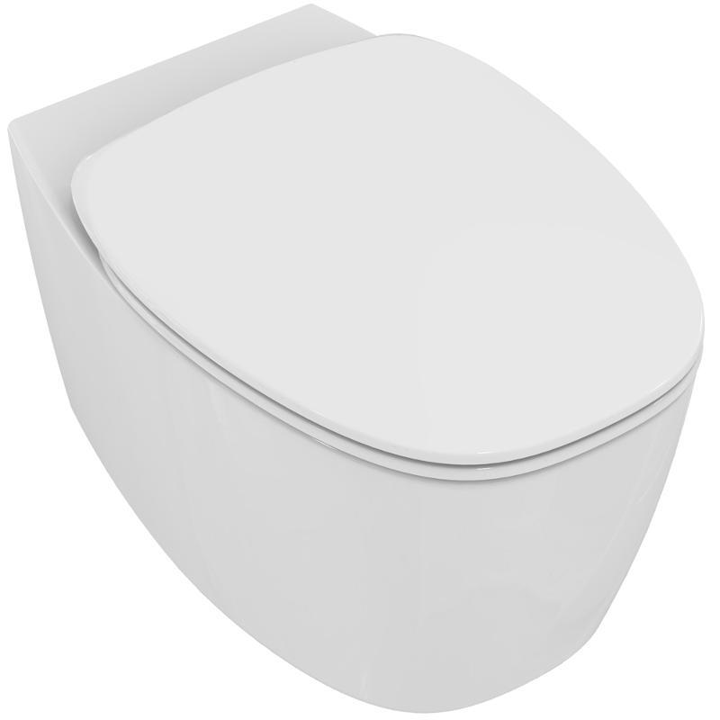 Унитаз подвесной Ideal Standard Dea T348801 безободковый с сиденьем микролифт
