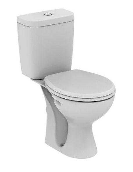 Унитаз Vidima СЕВА ФРЕШ (Seva Fresh) E405761 напольный, сиденье стандарт, цвет - белый