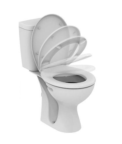 Унитаз Vidima СЕВА ФРЕШ (Seva Fresh) E405861 напольный, сиденье с микролифтом, цвет - белый