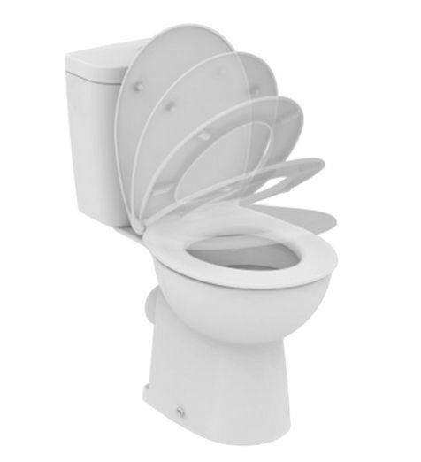 Унитаз Vidima СЕВА ФРЕШ (Seva Fresh) E408861 напольный, сиденье с микролифтом, цвет - белый