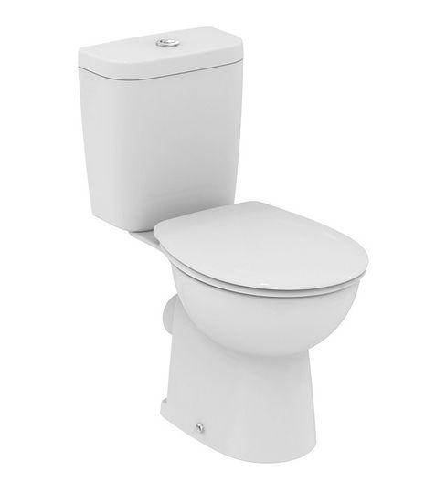 Унитаз Vidima СЕВА ФРЕШ (Seva Fresh) E408761 напольный, сиденье стандарт, цвет - белый